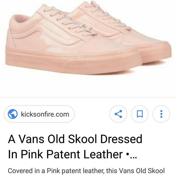 0796b05b6a2495 Old Skool Patent Leather classic skate shoes. 8. M 5a9dbf193800c5f0f58c6535